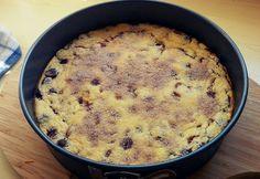 Egyszerű cseresznyés tejpite Oatmeal, Muffin, Breakfast, Food, The Oatmeal, Muffins, Rolled Oats, Hoods, Meals