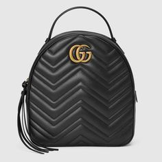 4402903a9 Gucci GG Marmont quilted leather backpack | @giftryapp Gucci Bags, Gucci  Gucci, Burberry
