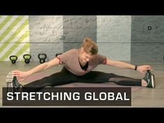 Fitness Master Class - Stretching Global - Lucile Woodward - YouTube