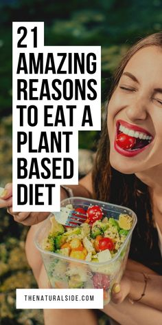 21 Amazing Reasons to Eat a Plant Based Diet Start eating plant based food to be more healthy and fit. See these 21 reasons to eat whole foods plant based diet. Plant based lifestyle vi Source by plant based Healthy Diet Tips, Healthy Recipes, Nutrition Tips, Whole Food Recipes, Diet Recipes, Healthy Protein, Healthy Food, Raw Food, Vegetarian Recipes