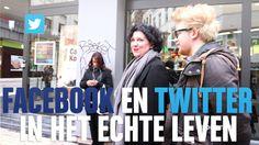 Social Media op straat: Facebook en Twitter in het echte leven #BOOSTNU