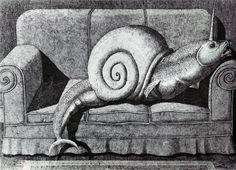Domenico Gnoli - Modern Bestiary 1968
