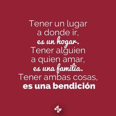 #hogar #familia #bendicion
