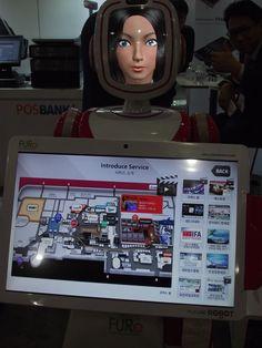 Les robots arrivent en magasin