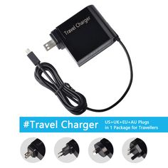 12V 2A 24W Laptop Power Adapter Travel Charger for Asus Notebook C100P US+UK+EU+AU Plug