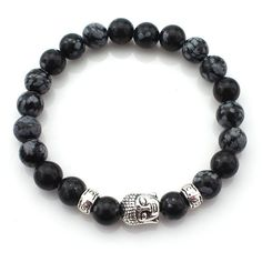 (3 pcs/lot) Natural Stone Buddha Bracelets Hot Sale Multicolor Bracelet Wristband For Women Men Fashion Jewelry Wholesale