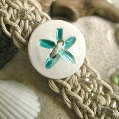 How to Crochet a Hemp Bracelet or Anklet