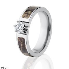 Camouflage Engagement Rings, Diamond Camo Engagement Rings, Realtree Camo