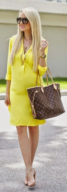 Yellow The Pop Color Dress | Bold and Beautiful Sp...