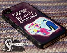 New Beetlejuice Handbook for the Recently Deceased iPhone 5 iphone 4 4s Burton Hard Case