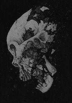 Skull Art By Abacrombie Ink Hugo Silva
