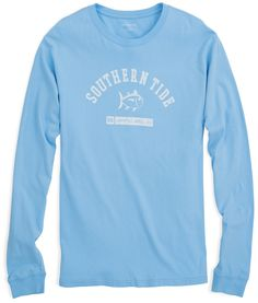Campus Long Sleeve T-shirt | Southern Tide