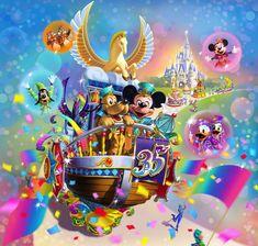 デイパレード 「ドリーミング・アップ!」 Tokyo Disney Resort, Tokyo Disneyland, Disney Pictures, Cool Pictures, Disney Pics, Disney Stuff, Mickey Mouse And Friends, Minnie Mouse, Disney Food