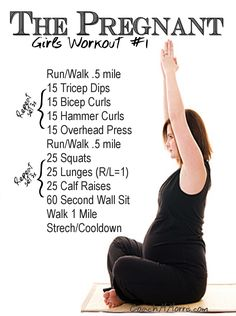 Fit pregnancy workout tips plans schedules. Pregnancy fitness by the month for each trimester. Stay fit healthy and active while you are pregnant. Do don't rules workout routine strength training cardio arms legs core pregnancy mommy Prenatal Workout, Mommy Workout, Workout Tips, Kids Workout, Pränatales Training, Strength Training, Pregnancy Health, Pregnancy Fitness, Pregnancy Info