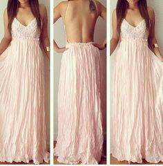 Daría mis kilos de más por tener estos hermosos maxi vestidos ⋮ Es la moda