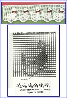 *~I want to put one of these ducklings on a plain polo shirt, on the spot for pocket. Filet Crochet Charts, Crochet Motifs, Thread Crochet, Crochet Doilies, Crochet Stitches, Crochet Patterns, Crochet Home, Love Crochet, Diy Crochet