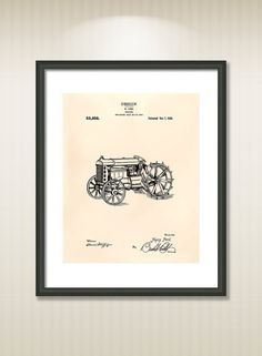 This reproduction was digitally restored and in some cases altered to remove defects or unwanted artifacts present in the original patent document.  Buy more and save! Buy ... #patentart #patentprints #vintage #blueprint