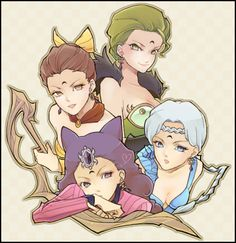 ayakashi sisters