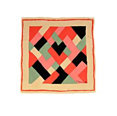 ** This is a favourite - it's geometric but has soft edges - Sonia Delaunay for Liberty of London