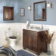 Foremost Hawthorne 48 in. Dark Walnut Single Bathroom Vanity with Mirror - FGI321