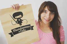 """Day 2: You (me ) #marchmeetthemaker! Hoola! This is me @isabelmandarina, I am a graphic designer and #dollmaker at #mandarinasdetela!  Esta soy yo…"""