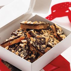 Simply delicious (and deliciously simple), our Butter-Crunch Toffee is the perfect gift for anyone on your list.