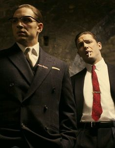 awesome Kray Twins. Tom Hardy & Tom Hardy in Legend...   my fav things Check more at http://kinoman.top/pin/27862/