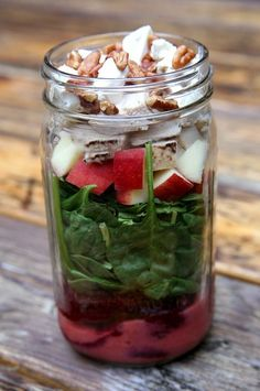 Healthy snacks on pinterest mason jar salads japanese salad and fish cupcakes - Te nemen afscheiding ...