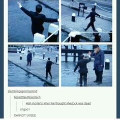 Sherlock Tumblr // in Doyle's world... the sailor is Sherlock. Bless their little hearts....
