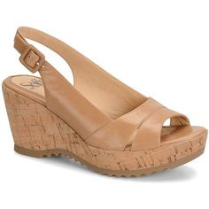 SOFFT Savina Leather Wedge Sandals