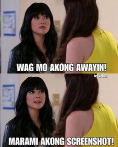 Pinoy Jokes Tagalog, Memes Pinoy, Tagalog Quotes Hugot Funny, Pinoy Quotes, Hugot Quotes, Tagalog Love Quotes, Filipino Quotes, Filipino Funny, Really Funny Memes