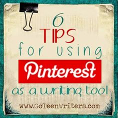 Is your love of Pinterest getting in the way of your #NaNoWriMo novel's progress? Never fear, here are 6 tips to use Pinterest as a writing tool! #writingtips