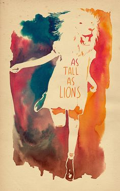 As tall as lions - ver.2 by mathiole