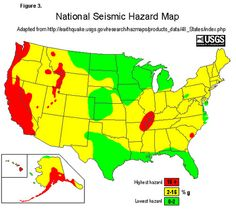 US Fault Lines GRAPHIC Earthquake Hazard MAP High Risk - Us fault map