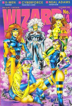Jean Grey, Storm, Rogue, Psylocke, Jubilee - The Ladies of the X-Men