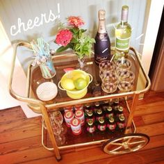 This would be so fun to have whenever i decide to have a little house party:)