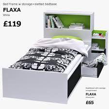 Resultado de imagen de habitacion con cama flaxa ikea