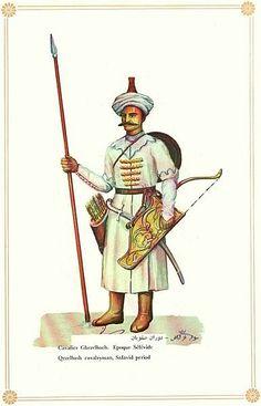 Qezelbash warriors(Kızılbaş Askeri) are mostly Shia Turcoman.