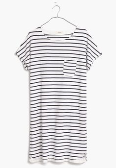 pocket tee dress / madewell