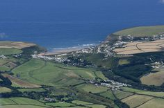 Trenance & Mawgan Porth - Cornwall aerial view taken from above Newquay Airport | by John Fielding #cornwall #coast #aerial #trenance #mawganporth #beach