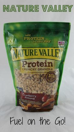 Nature Valley has THREE new products! This is great fuel on the go!!!