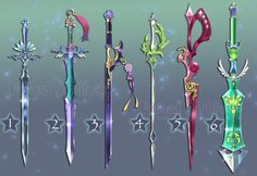 Weapon Adoption 24 Swords CLOSED by Forged-Artifacts.deviantart.com on @deviantART