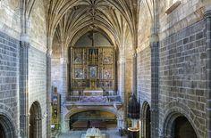 Interior del monasterio de Santo Tomás