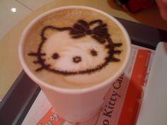 Hello Kitty Cappucino