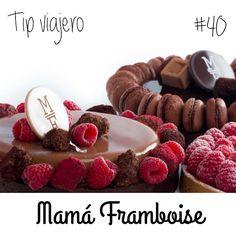 Para todos los viajeros! Este miércoles te vamos a recomendar: Mamá Framboise una deliciosa pastelería en Madrid! Una combinacion de tradición y modernidad a ravés de sus sabores sencillos, sus ingredientes naturales de alta calidad y su ntorno, crea una experiencia sensitiva apta para todos los paladares que no te querrás perder! Si viajas a Madrid no te lo pierdas!!