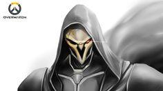 Resultado de imagem para high resolution overwatch wallpaper Reaper