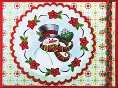Lindas Tarjetas de Navidad Hechas a Mano – Prepárate con Anticipación!!