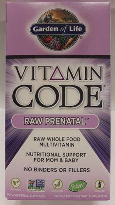 Garden Of Life Vitamin Code Raw Prenatal Multivitamin 90 Vegetarian  Capsules NEW