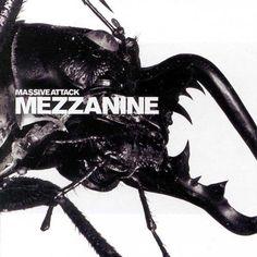 Massive Attack, Mezzanine album cover - classic