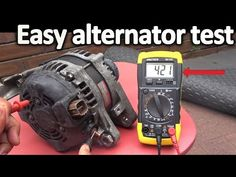 How to Test an Alternator ( Testing the Voltage Regulator, Diode rectifier and Stator) Truck Repair, Engine Repair, Motorcycle Mechanic, Car Fix, Voltage Regulator, Car Hacks, Auto Service, Small Engine, Custom Cars